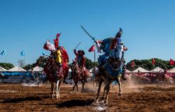 Tradição portuguesa, batalha medieval entre Mouros e Cristãos se mantém viva na cultura de MT há mais de 200 anos