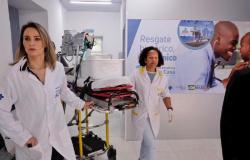 Duas recém-nascidas são as primeiras pacientes do Hospital Estadual Santa Casa
