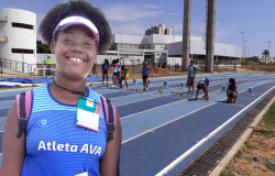 Primeiro dia de competição, atleta de Várzea Grande se classifica para fase nacional dos Jogos Escolares