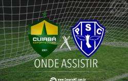 Jogo do Cuiabá ao vivo: como assistir Cuiabá e Paysandu online pela Copa Verde