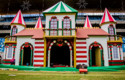 Arena Encantada vai ser aberta ao público na sexta-feira, dia 06