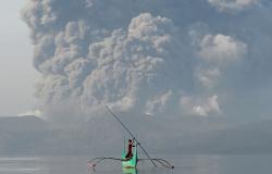 Cinzas do vulcão Taal provocam transtornos na capital das Filipinas