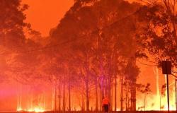 Após incêndios, Austrália registra tempestades de granizo e areia