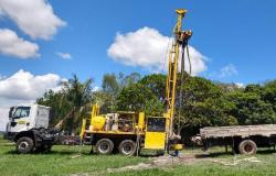 Metamat perfurou 11 poços para captação de água em cinco municípios