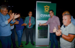 Prefeitura entrega Complexo Esportivo no Jardim Leblon