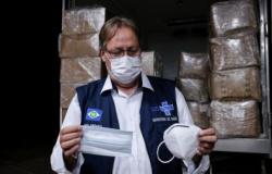 MT recebe 54 mil máscaras hospitalares