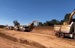 Obras de pavimentação entre Novo São Joaquim e Campinápolis seguem em ritmo acelerado
