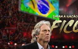 Flamengo acaba novela e Jorge Jesus confirma renovação em rede social