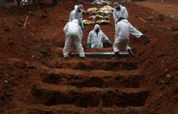 Brasil tem 1.382 novas mortes por Covid-19 e total ultrapassa 37 mil