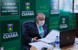 Câmara de Cuiabá suspende atividades presenciais por sete dias