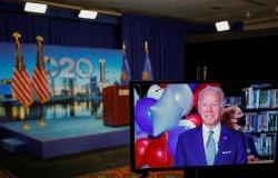 Democratas formalizam Biden como candidato à presidência dos EUA