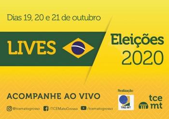TCE-MT e TRE-MT realizam lives com orientações para as eleições 2020