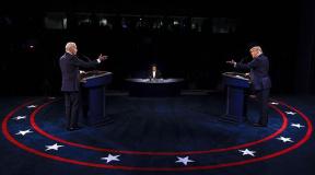 Donald Trump e Joe Biden adotam tom mais 'civilizado' em debate