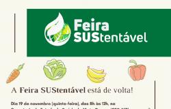 Com produtos naturais, SES retoma Feira SUStentável nesta quinta-feira (19)