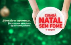 1ª dama abre doações do 4º ano da campanha Natal Sem Fome