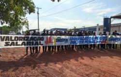 Policiais penais cruzam os braços em presídio de MT