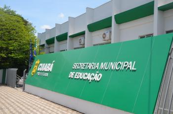 Secretaria Municipal de Educação de Cuiabá — Foto: Jorge Pinho/Prefeitura de Cuiabá