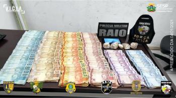 Ação conjunta prende suspeito com mandado de prisão em aberto que apresentou CNH falsaEm uma ação conjunta com outras forças de segurança, o Grupo Esp