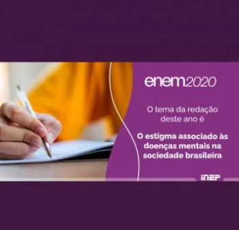 Redação do Enem 2020 traz tema voltado para saúde mental