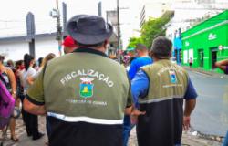 Ordem Pública continua fiscalizando denúncias, mas pede consciência à população