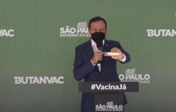 Butanvac: governo de SP diz que pedirá nesta sexta à Anvisa autorização para testes; produção começa em maio