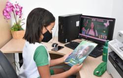 Mensagens incentivam estudantes e pais a participarem e acompanharem das atividades pedagógicas remotas
