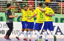 CBF assume gestão da seleção brasileira de futsal; veja o que muda
