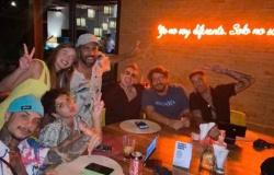 Duda Reis aparece em jantar com Gui Araújo em meia a boatos de affair