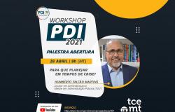 TCE-MT realiza workshop PDI 2021 nesta quarta-feira (28)
