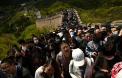 Feriado provoca engarrafamentos e turismo na China, onde a pandemia parece superada