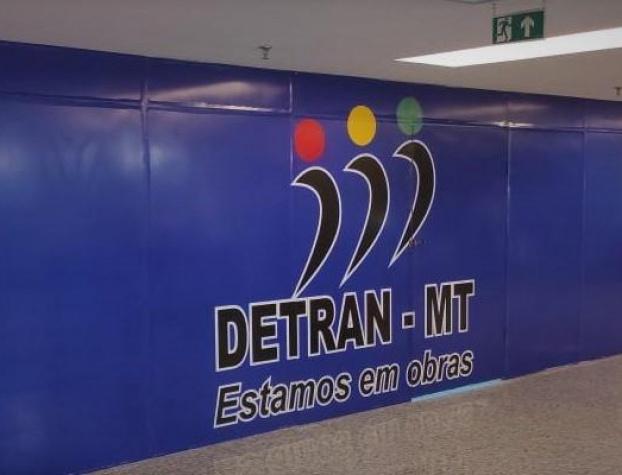 Unidade do Detran-MT no Shopping Estação passará por reforma pelos próximos 15 dias