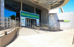 Sugestão de pauta - Prefeitura inaugura novo polo de vacinação no Senai Cuiabá