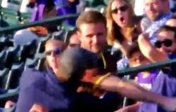 Torcedor é 'nocauteado' em briga na Liga Nacional de beisebol dos Estados Unidos; veja o vídeo