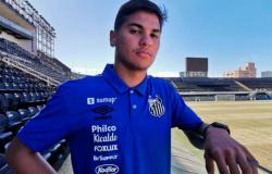 Santos anuncia a renovação de contrato com o lateral Cadu