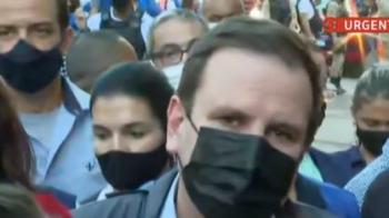 """""""Milícia não vai mais construir porcaria nenhuma nessa cidade"""", diz Eduardo Paes, após queda de prédio"""