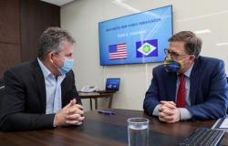 Governador e embaixador dos EUA firmam cooperação para atrair investimentos a Mato Grosso