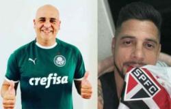Cicinho chama Palmeiras de 'porco assado' e 'sem mundial' e Marcos libera: 'Pode zoar porque merecemos'