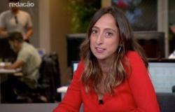 Comentarista Renata Mendonça comemora estreia em transmissão da TV Globo