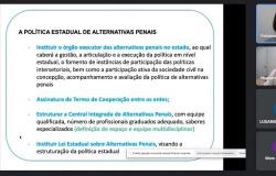 Central de Alternativas Penais irá reduzir encarceramento e focar em políticas restaurativas