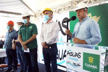 Stopa destaca respeito de Cuiabá ao meio ambiente e pede que outros municípios também invistam mais em saneamento