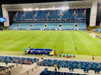 """""""A Arena Pantanal é um dos melhores estádios do mundo"""", diz vice-presidente da Conmebol"""