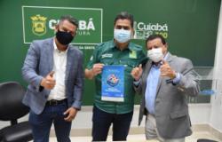 Prefeito recebe governador do Rotay Club e firma parcerias voltadas ao bem-estar social