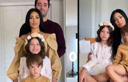 Simaria encanta em foto rara com família