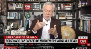 Garcia: Bolsonaro é um raro presidente que mantém contato com o povo | LIBERDADE DE OPINIÃO