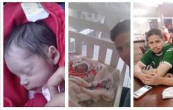 Pai vive luta para criar bebê após morte de esposa gestante com covid