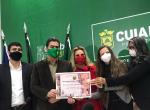 Defensora pública recebe diploma de Mérito Literário e Cultural Social em solenidade na Prefeitura de Cuiabá
