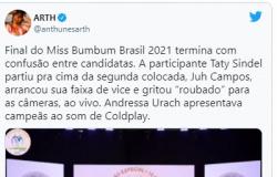 """Candidata do Miss Bumbum arma barraco após perder concurso: """"É roubado!"""""""