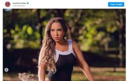"""Mulher Melão ostenta boa forma em ensaio ao ar livre e impressiona fãs: """"Amo tanto"""""""