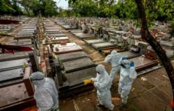 Brasil tem 1.172 óbitos pela Covid nas últimas 24h; total supera 532 mil vítimas