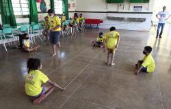 Educação promove colônia de férias para alunos do programa Escola em Tempo Ampliado